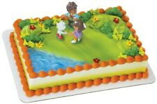 Dora the Explorer Cake Topper Rosie Posie with Diego, Boots, and Jag