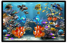 FISH TANK (AQUARIUM) - NOVELTY FUN FRIDGE MAGNET - BRAND NEW - GIFT