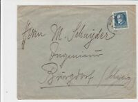 Germany Bavaria 1914 to Burgdorf Switzerland Stamps Cover Ref 31811