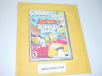 New THE SIMPSONS ROAD RAGE game Platinum Hits for Original Microsoft XBOX system