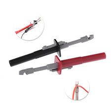 2pc Test Clip Insulation Piercing Alligator Probes for Car Circuit Detection Set