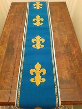 More details for vintage handmade 5 foot  tapestry table runner    - royal school of needlework
