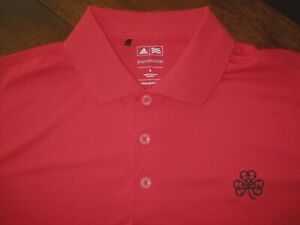 Men's Adult Small. Adidas Erin Hills Golf Course Polo - Excellent Used Condition