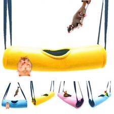 Hamster Hammock Pet Cage Tunnel Tube Rat Ferret Warm Sleeping Bed Play Toy