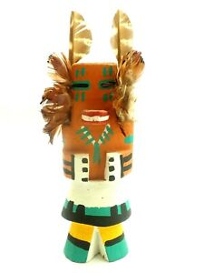 Route 66 Carved Hopi Squirrel Kachina by George Pooley (1951-2009)