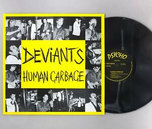 "Deviants - Human Garbage (Live At Dingwalls) - 12"" Vinyl LP - PSYCHO 25"
