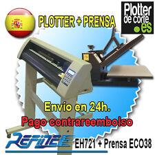 PROMOCIÓN PARA ESTE MES Pack plotter de corte EH 721 + Prensa ECO38, NUEVO