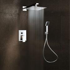 Duschsystem Unterputz Duscharmatur Set Regendusche Armatur mit Handbrause