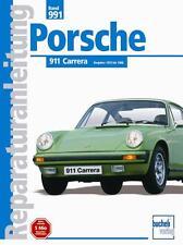 Porsche 911 Carrera 1975-88 (3,0 & 3,2 G-Modell) Reparaturanleitung deutsch Buch