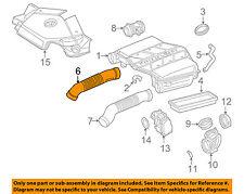 Mercedes Breather Hose Top Upper Section 1998-2008 1120180382 febi