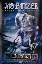 Jag Panzer 2004 Poster Autographed by Chris Broderick 11x17 Megadeth