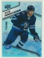 2019-20 Upper Deck Ice Premieres Rookie 105 David Gustafsson /499 Winnipeg Jets