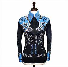 SMALL  Showmanship Pleasure Horsemanship Jacket Shirt Rodeo Queen Rails Outfit