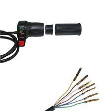 48V Gasgriff mit Ladeanzeige Ersatzteil für Elektro Scooter Gasdrehgriff