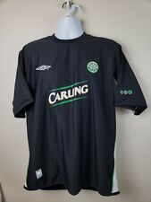 Official Team Pro Training Celtic Football Soccer Club Carling black jersey Xl