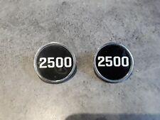 Triumph 2500 pillar badges used.