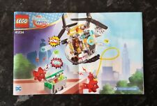 Lego DC Super Hero Girls Bumblebee Helicopter 41234 Instruction Manual