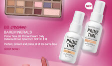 Bareminerals Prime time BB primer-cream. Daily Defence. SPF 30. TAN