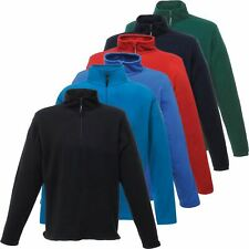 New Mens Plain Regatta Zip Neck Micro Fleece Top Half Zip Pullover Jumper S-3XL