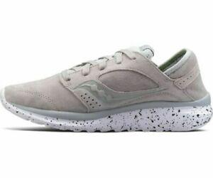 Saucony Kineta Relay Premium  Mens Fashion Casual Sneakers - Grey White S40006-2
