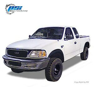 Rugged Paintable Fender Flares Fits Ford F-150 1997-2003 Styleside Only Full Set