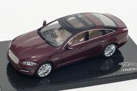 Jaguar XJ in Caviar, official Jaguar dealer model, IXO 1:43 scale