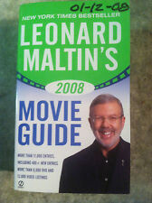 Leonard Maltin's Movie Guide 2008 by Leonard Maltin (2007, Paperback) Store#3377