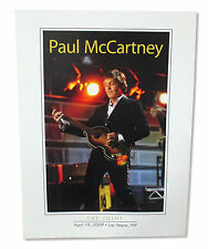 PAUL MCCARTNEY - THE JOINT 2009 LAS VEGAS EVENT CARDSTOCK TOUR POSTER 18X24 NEW
