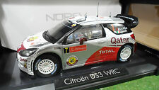 CITROËN DS3 WRC RALLYE PORTUGAL 2012 a 1/18 NOREV 181558 voiture miniature Rally