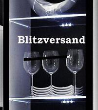 I-Glow LED Glaskantenbeleuchtung 2er Set Weiß - Glasbodenbeleuchtung