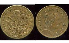 MEXIQUE  5 centavos 1975