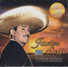 Lo Esencial De Javier Solis 3 CD NEW + DVD 78 Songs Sealed! Karaoke Biografia!