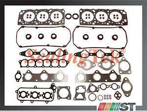 Fit 99-05 Mitsubishi 3.0L 6G72 SOHC 24-Valve Engine Cylinder Head Gasket Set kit