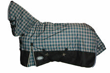 AXIOM 1800D BALLISTIC W/PROOF TARTAN/BLACK LIGHT/NO FILL MESH HORSE COMBO 5' 9