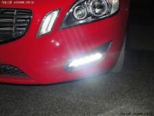 2x LED DRL Driving Daytime Running Day Fog Lamp Light for VOLVO 2009-2013 S60