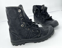 Palladium Pallabrouse Baggy Combat Chukka Womens Boots Pre-owned Size 7.5