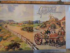 Rare 1939 Gaspe Quebec Canada 20-p brochure + great map