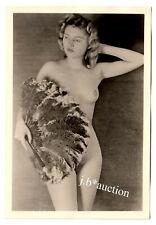 #867 ROESSLER AKTFOTO / NUDE WOMAN STUDY * Vintage 1950s Studio Photo - no PC !