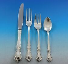 Rose Cascade by Reed & Barton Sterling Silver Flatware Service Set 39 Pieces
