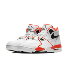 Nike Air Flight 89 EMB White Black Orange CZ6097-100 New Men's Shoes Size 11