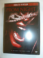 Prom Night DVD UNRATED VERSION 2008 horror movie remake Brittany Snow NEW!