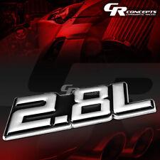 3M TAPE ON AUTO BODY METAL EMBLEM LOGO TRIM BADGE POLISH CHROME BLACK 2.8L 2.8 L