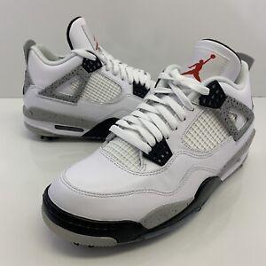Jordan 4 Retro Golf White Cement Size 8 Mens (9.5Womens) CU9981-100