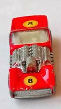 MATCHBOX LESNEY ROAD DRAGSTER NO 19 ORIGINAL 1ST ISSUE 1970 PLAY WORN