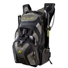 Klim Krew Pak Hydration Backpack Snowmobile Motorcycle Enduro Back Pack Hydrapak