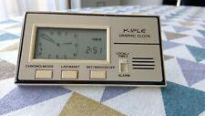 Ancienne Pendulette Réveil de Voyage KIPLE Graphic Clock Quartz Vintage an 70