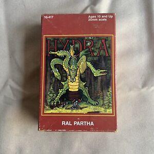 Dungeons & Dragons Ral Partha 1986 Seven Headed Hydra D&D Metal Figurine MIB