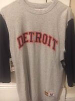 Mitchell and Ness Detroit Tigers Vintage Retro MLB T Shirt Brand New (Tags on)