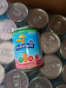PediaSure strawberry Grow & Gain Complete Balance Nutrition 8oz Can QTY 24