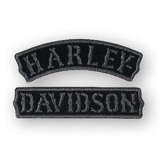 """Harley-Davidson Aufnäher, Emblem """"Vintage Rokker"""" Patch *EM251752* mittel"""